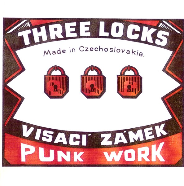 Visací zámek-Three Locks